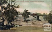 Sydney Express crossing Sunday Creek, Broadford