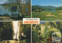 Situated in the King River Valley, Cheshunt has much to offer the holidaymaker
