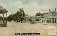 Post Office and Library, Creswick