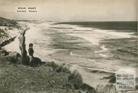 Ocean beach, Sorrento, 1954
