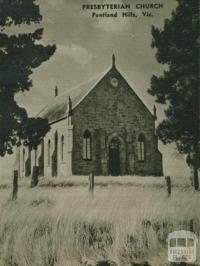 Presbyterian Church, Pentland Hills, 1954