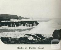 Rocks at Phillip Island, 1918