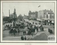 Pall Mall, Bendigo, 1918
