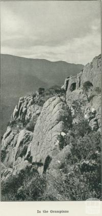 In the Grampians, 1918