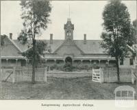 Longerenong Agricultural College, 1918