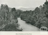 Mount Feathertop and Ovens River, 1918