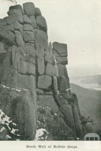 North wall of Buffalo Gorge, 1918