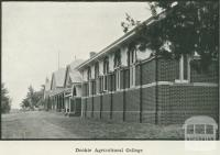 Dookie Agricultural College, 1918