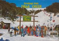 Chair Lift, Falls Creek