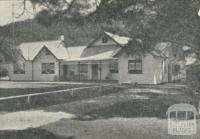 Tyrone Guest House, Buxton, 1950