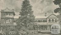 Moorandah Lake Hotel, Healesville, 1947-48