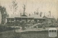 Braco Park Boarding House, Sassafras, 1918-20