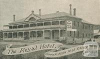 The Royal Hotel, Upper Fern Tree Gully, 1918-20