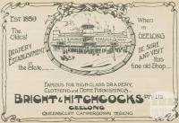Bright & Hitchcocks Drapery, Geelong, 1918-20