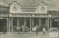 Victoria Hotel, Ararat, 1918-20