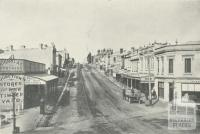High Street Kew in the 1890s