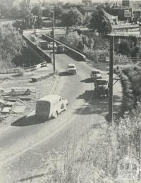 The Old Johnston Street Bridge, Abbotsford, demolished 1959