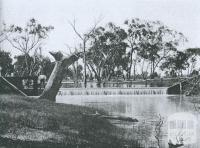 Katandra weir, Broken Creek, Katandra, 1903