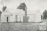 Old Private School at 'Walden', Sheep Hills, 1924