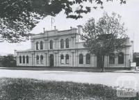 Williamstown Mechanics' Institute, 1934