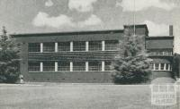 Girl's Technical School, Box Hill, 1956