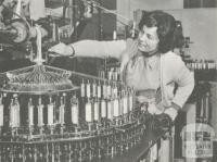 WA Smith Lacemaking, Dandenong, 1964