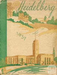 Heidelberg, illustration by Blake Mealy, 1937