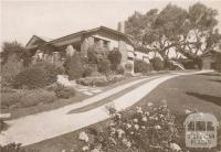 The Boulevard House, Ivanhoe East, 1937