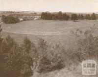 Heidelberg Park with Warringal Park in the background, 1937
