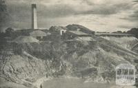 View of Glenthompson Brickworks from Glenelg Highway, 1960
