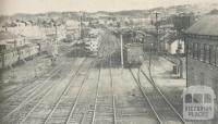 Railway Yards, Ararat, 1960