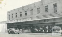 Forge's Store, Footscray, 1947
