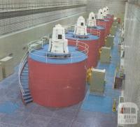 Generators in McKay Creek Power Station, Kiewa, 1971