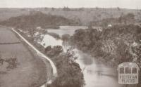 The Tambo River, from the Limestone Cliffs above Swan Reach, 1934