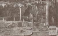Royal Cave, showing the Twelve Apostles, Buchan, 1934
