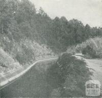 The Upper Yarra Aqueduct, Upper Yarra Dam, 1954