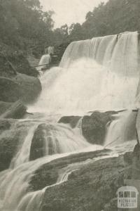 Falls on Stringer Creek, Walhalla, c1910