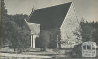 St Mathews Church of England (1869), Waverley, 1961