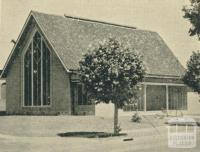 Yallourn Methodist Church, 1961