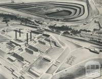 Morwell Power and Fuel Development, artist's impression, 1959