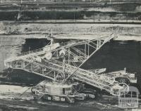 Bucket-wheel dredger, Morwell open cut, 1959