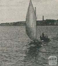 Queenscliffe, from North Channel, 1910