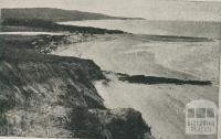Anglesea River and Point Addis, 1910