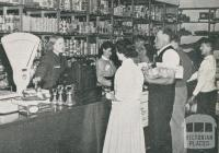 Employees Co-operative Store at Upper Yarra Dam Works, 1956