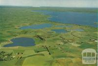Aerial view od the Western District Lakes, 1958