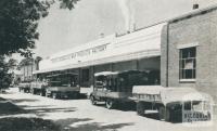 Co-operative factory, Drouin, 1955