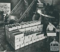 Pea-processing plant, Dalmore, 1955