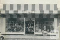 Cox Bros store at Robinvale, 1960
