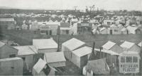 The temporary township where the mine now stands, Wonthaggi