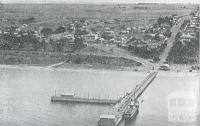 Aerial view of Portarlington, 1931